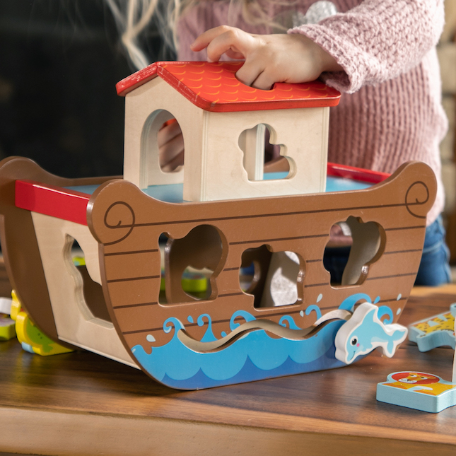 Noah's Ark Sort & Play Set Image
