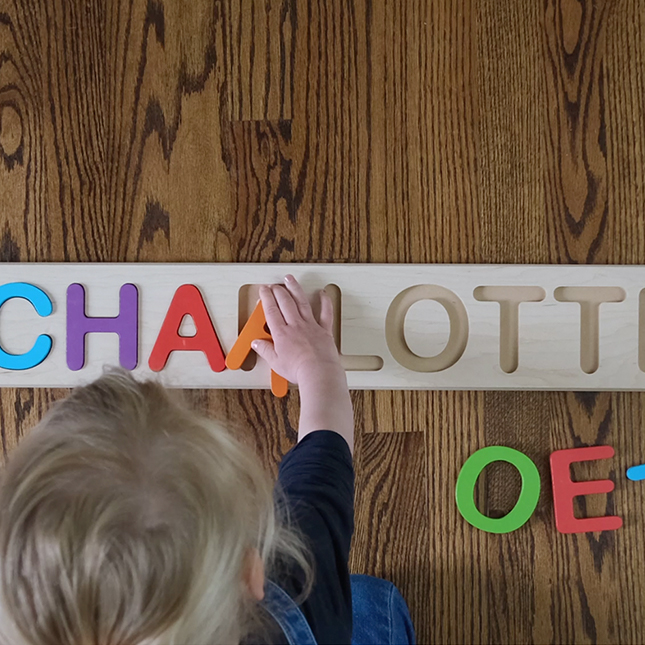 Personalized Name Puzzle Image