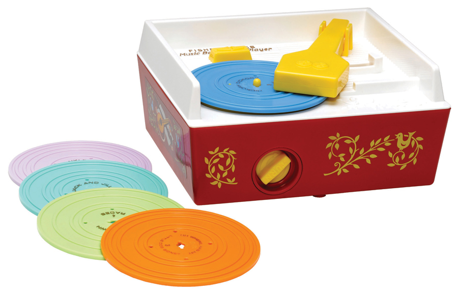 Fisher-Price Classic Toy - Record Player