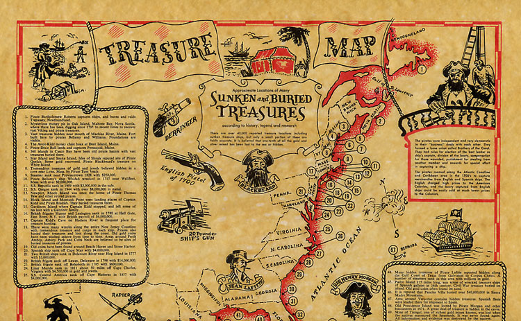 A Treasure Map To End All Others