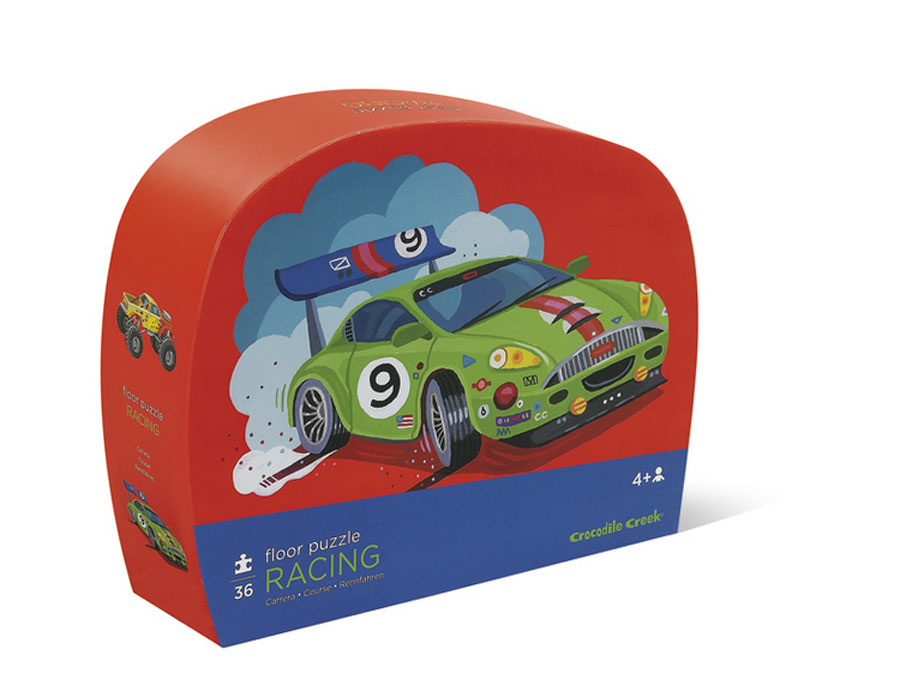 Racing Shaped Box Puzzle - 24 pc