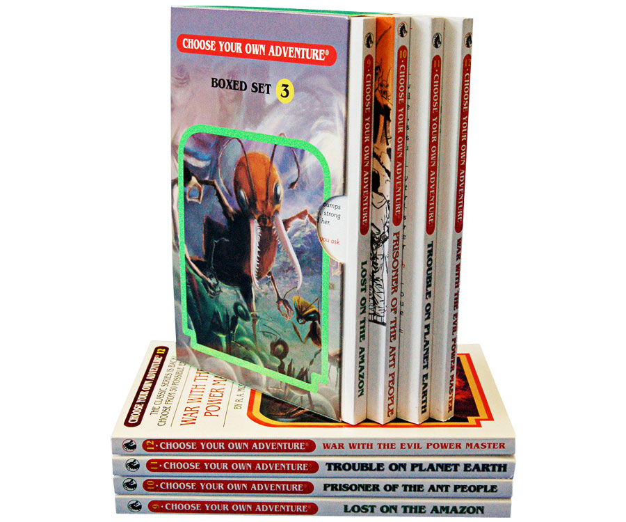 Choose Your Own Adventure 4 Book Boxed Set 3