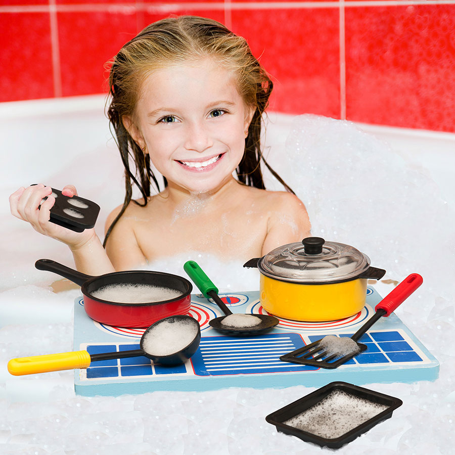 Girl Toys Age 11 : Waterblocks floating cook set