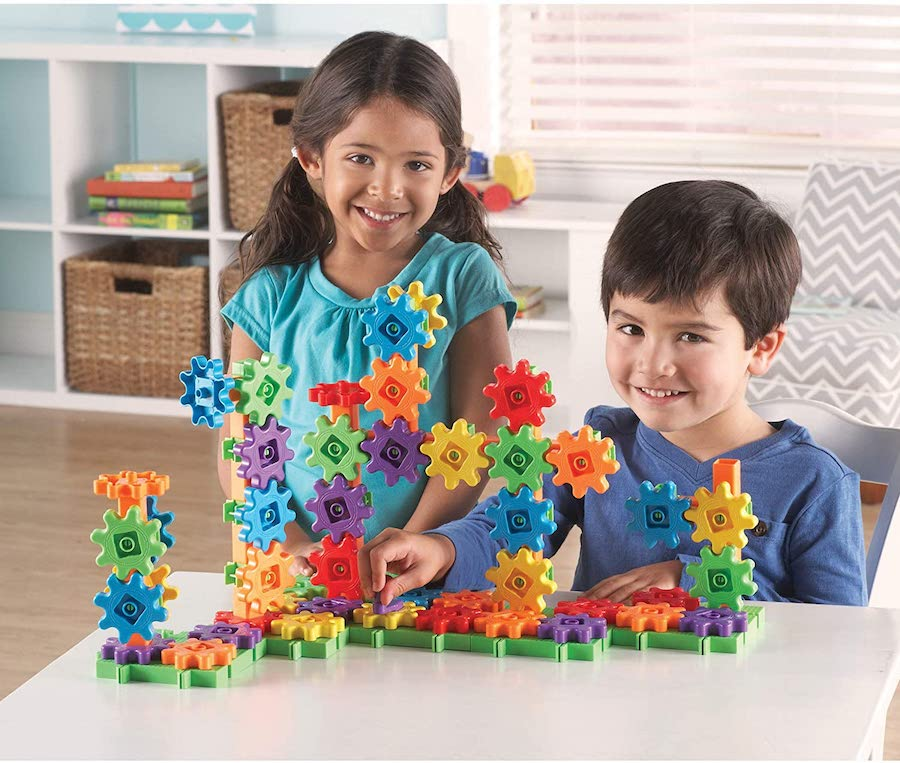 Toy Building Set For Boys : Gears beginner s building set