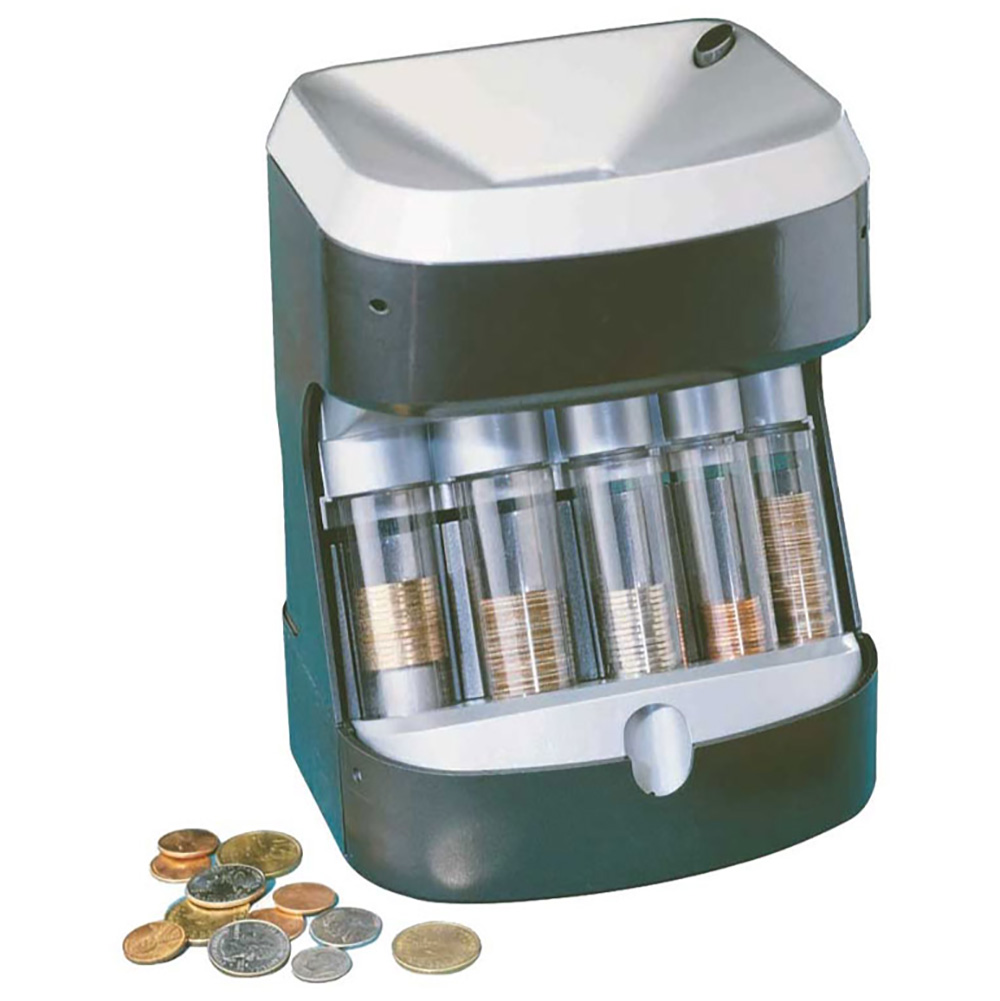 coin counter and wrapper machine