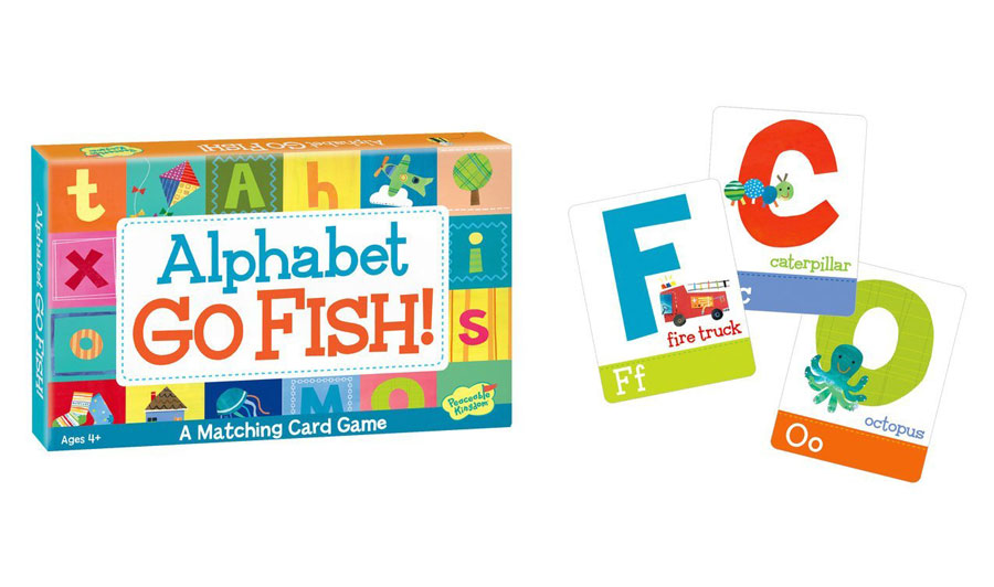 Alphabet go fish card game for Card game go fish