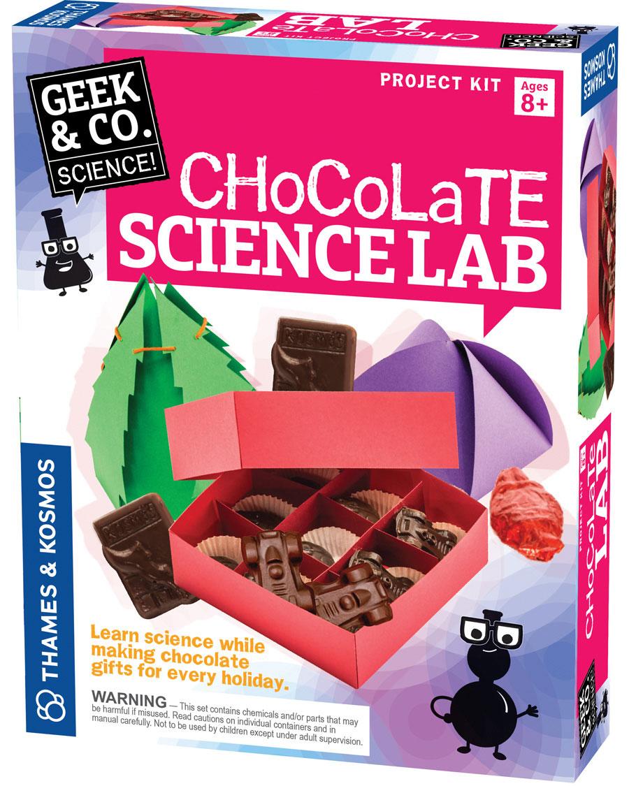 Geek Toys Science : Geek co chocolate science lab