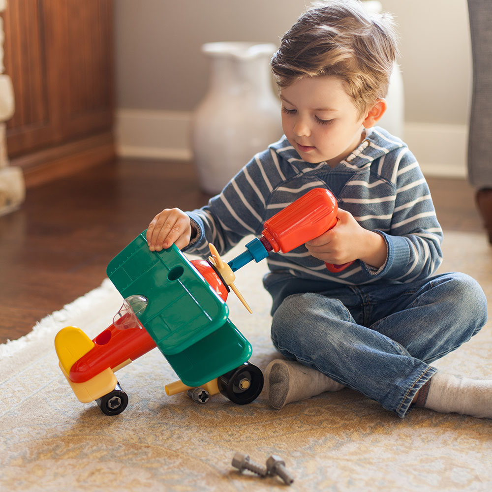 Put Together Toys For Boys : My little airplane builder