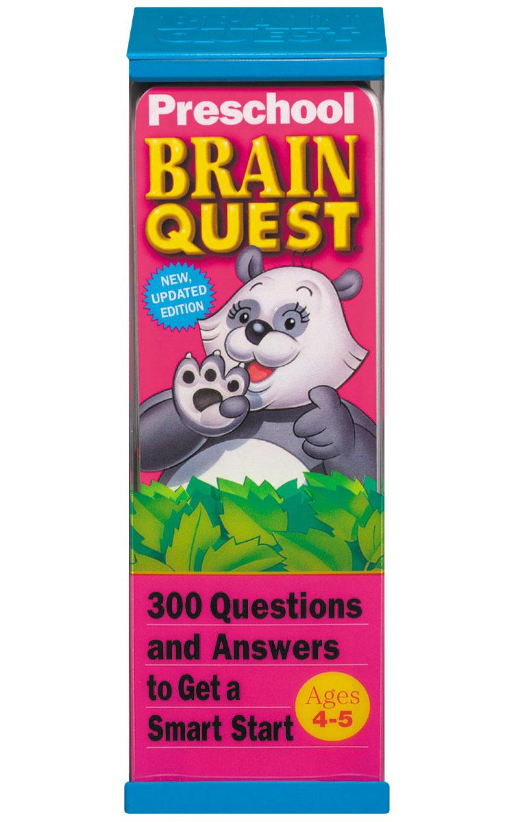 Brain Quest : Preschool by Chris Welles Feder (1993, Paperback) AGES 4-5