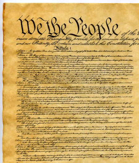 U.S. Constitution Printable Worksheets