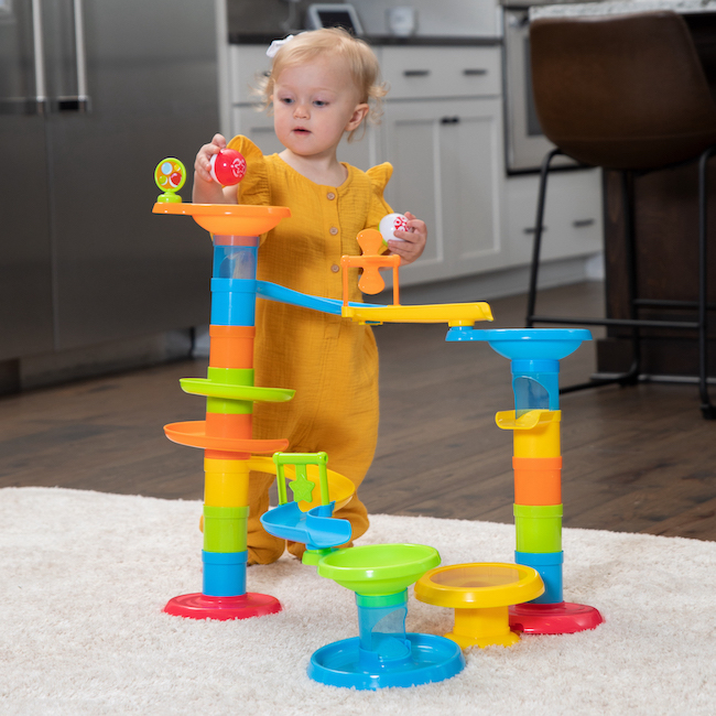 Toys For Fat : Roll bounce tower