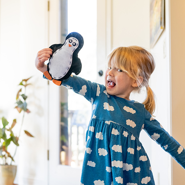 Surprise Ride - Sew a Stuffed Penguin Activity Kit