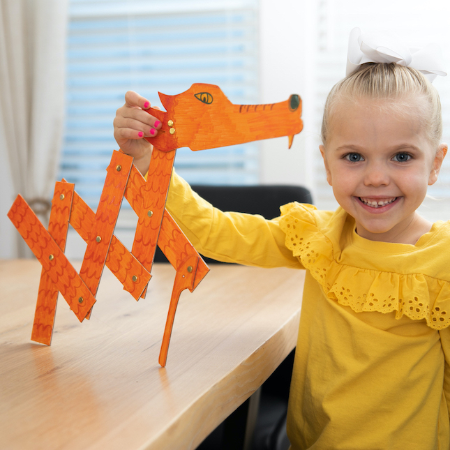 Surprise Ride - Make a Dragon Chomper Activity Kit