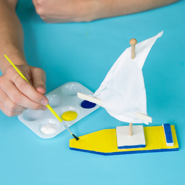 Surprise Ride - Build a Wooden Sailboat Activity Kit