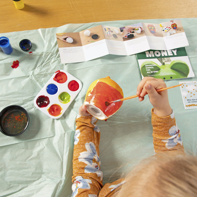 Surprise Ride - Paint an Owl Bank Activity Kit