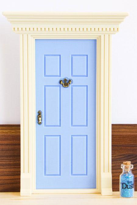 39 lil fairy door sparkly for Rainbow fairy door