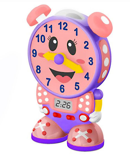 Telly The Teaching Time Clock Telly The Teaching Time Clock
