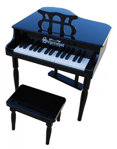 30 key classic baby grand piano for Classic house piano