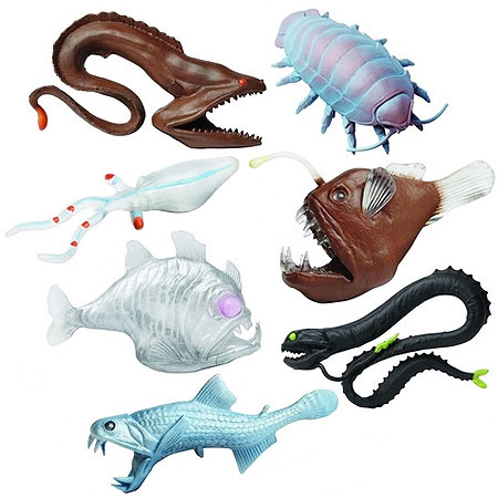 Deep sea creatures toob for Angler fish toy