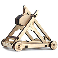 Laser Cut Trebuchet Kit