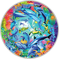 Round Table 500 Piece Puzzle - Underwater World