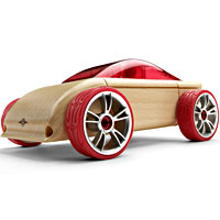 Automoblox C9 Sports Coupe - red