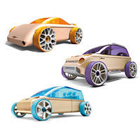 Mini Automoblox A9-S/M9/X9-X - 3 pack