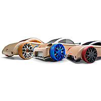 Mini Automoblox S9-R/C9-R/C9-S - 3 pack