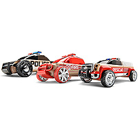 Automoblox Mini Emergency Response 3-pack