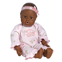 PlayTime Baby Little Princess - Dark Skin
