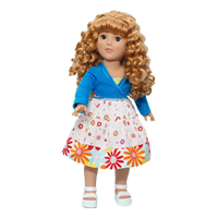 Favorite Friends Spring Fling Dance - 18 inch Doll