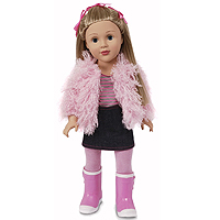 Favorite Friends Pink Glamour - 18 inch
