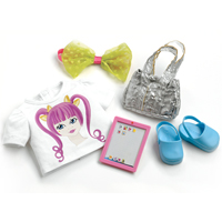 Favorite Friends Fun and Funky Accessory Pack