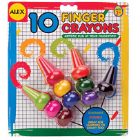 Finger Crayons - 10 count