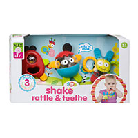 Shake Rattle & Teethe Set of 3