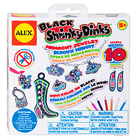 Black Shrinky Dinks Midnight Jewelry