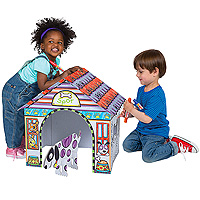 Color A Dog House