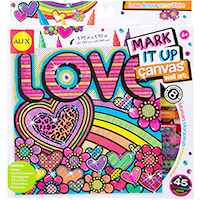 Mark It Up Canvas - Love