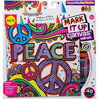 Mark It Up Canvas - Peace