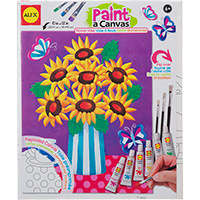 Paint A Canvas - Flower Vase