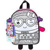 Color A Back Pack - Cutie