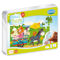 Aladine Vertical Puzzle - Farm 24 pc