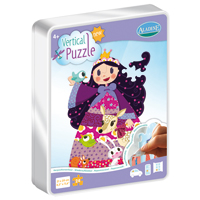 Aladine Vertical Puzzle - Princess 24 pc