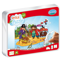 Aladine Vertical Puzzle - Pirates 48 pc