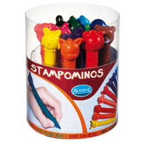Aladine 12 Animal Crayons