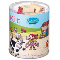 Aladine Stamp Story Kit - Farm