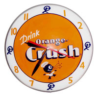 American Retro Double Bubble Clocks