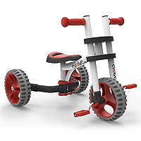 YBike Evolve - White/Red