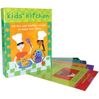 Kids' Kitchen Card Deck