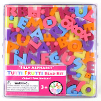 Silly Alphabet Tutti Frutti Bead Kit